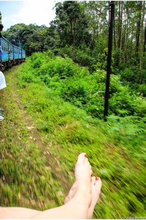 Train ride from Kandy to Ella