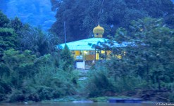 Mosque in village close by