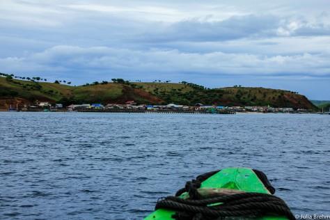Boat Trip to Komodo Island