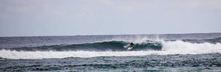 Surfing around Kuta (South Coast)