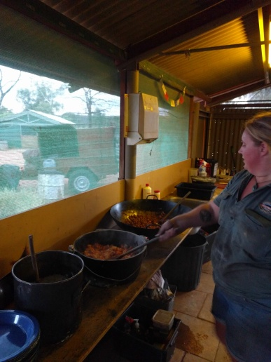 Cooking on the Campsite