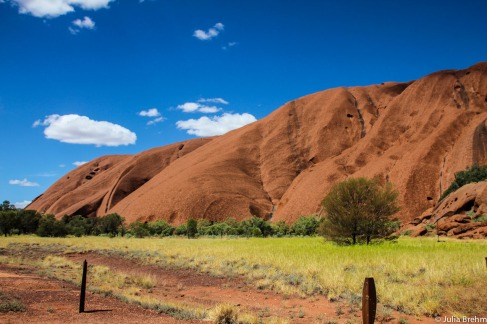 Uluru for the first time