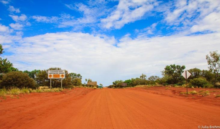 Perfect Australian Outback Street