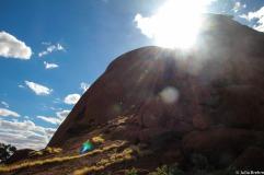 Beautiful weather @ Uluru