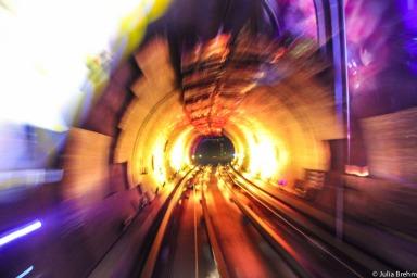 Tourist Attraction Bund tunnel