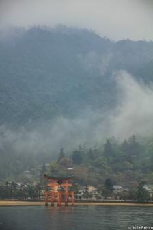 Torii des Itsukushima-Schreins