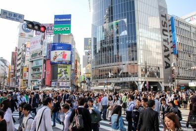 Shibuja Kreuzung in Tokio
